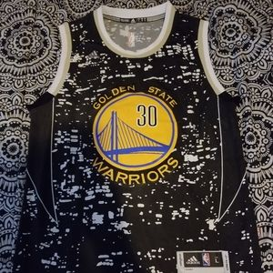 NBA Golden State Warriors 30 City Lights Jersey